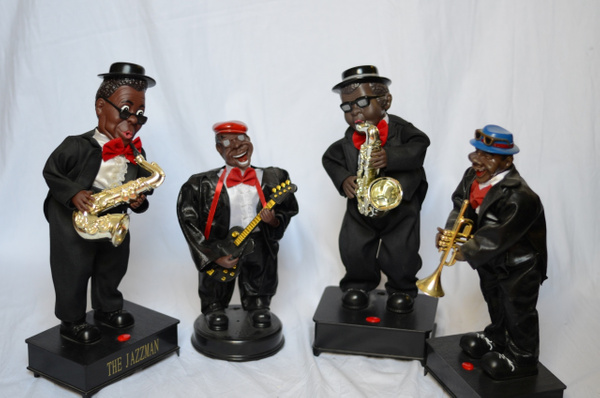 Bewegende- Dansende muzikanten by JohnsJazzCollection