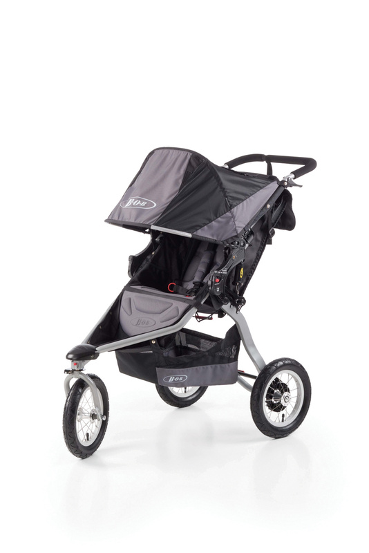 Carucior 2 in 1 BOB REVOLUTION CE Black