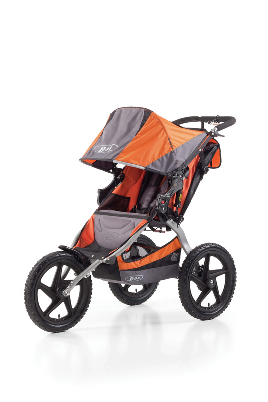 Carucior 2 in 1 BOB SPORT UTILITY STROLLER Orange