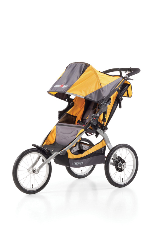 Carucior 2 in 1 BOB IRONMAN Yellow