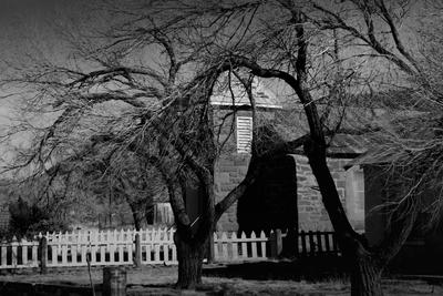 Ghost town Cuervos New Mexico