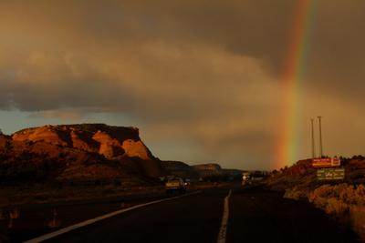 Rainbows and Red Rocks