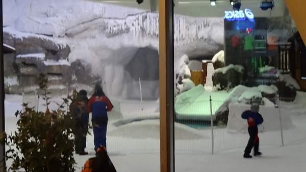 Emirates Mall builtin Winter Playground