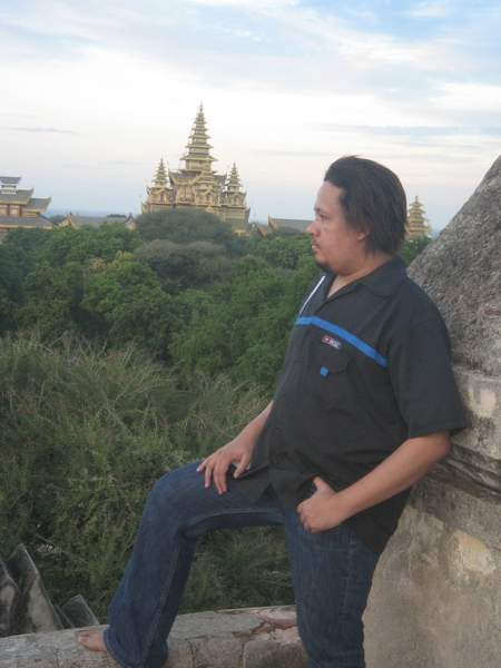Admiring Bagan View