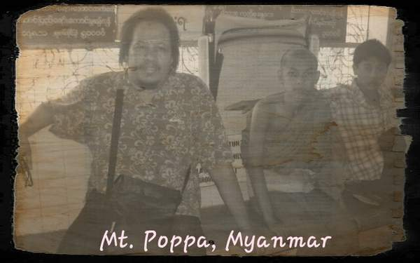 Mt Poppa Monk Novices