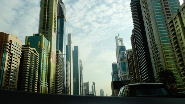 Enormous Skyscrapers in Dubai