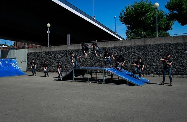 Skate in Düsseldorf by MariaSolunina