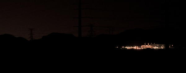 power lines by Thure Johnson