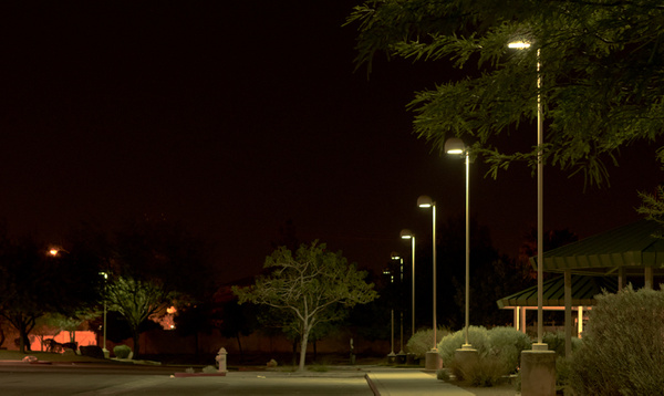 parking lot by Thure Johnson