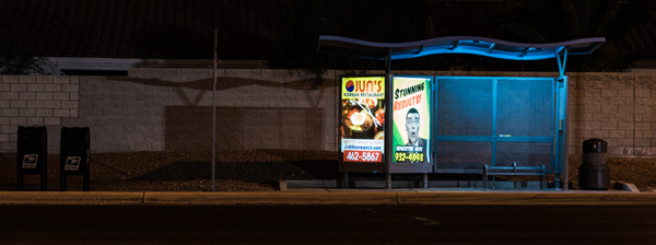 bus stop 2 by Thure Johnson