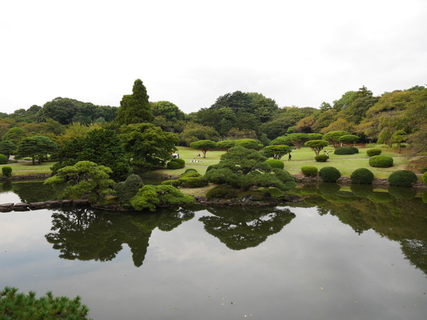 Shinjuku Gyoen National Garden by hannajamikko