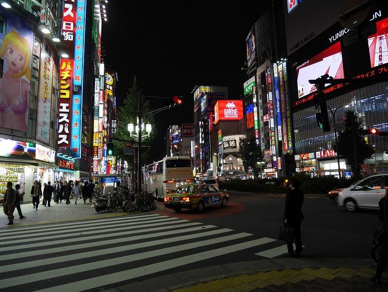 Tokyossa illalla