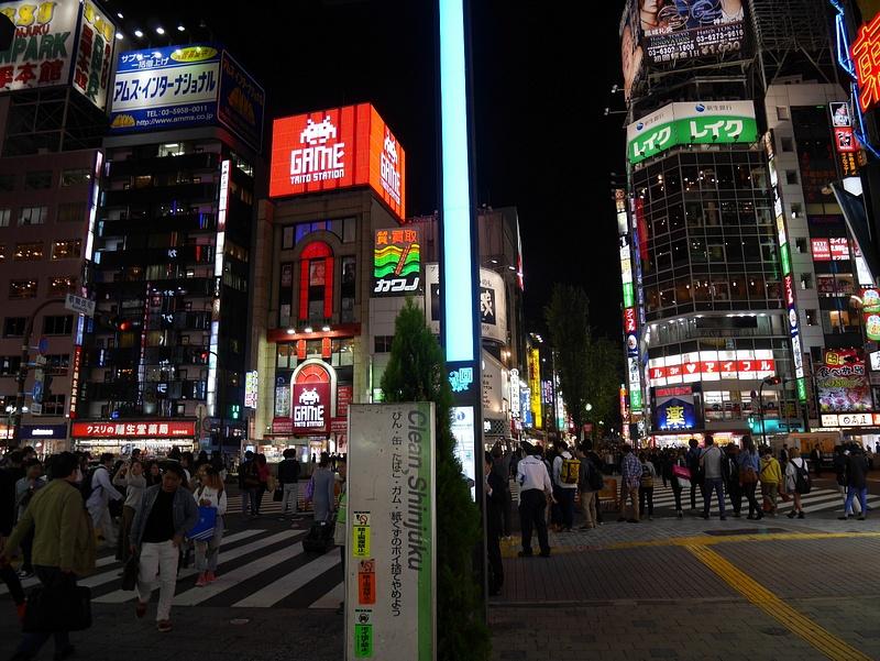 Shinjuku yöaikaan