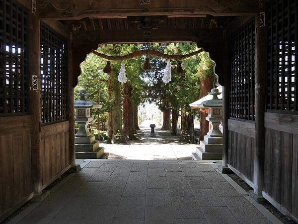 Kawaguchi Asama Shrine by hannajamikko