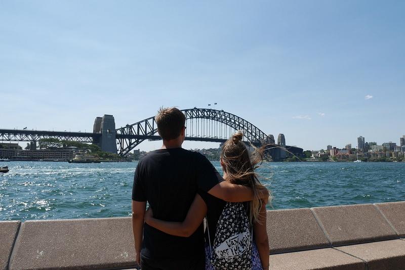 Sydney Harbour Bridge ja me