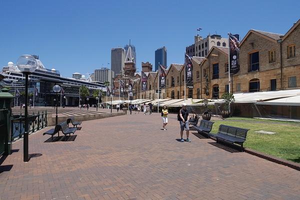 Rocksissa on Sydneyn vanhimmat rakennukset by hannajamikko