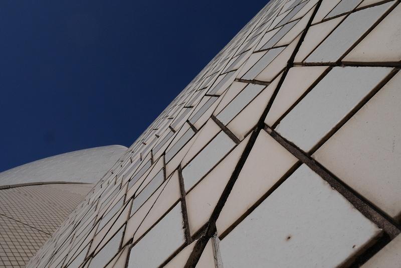 Sydneyn oopperatalon kattoa