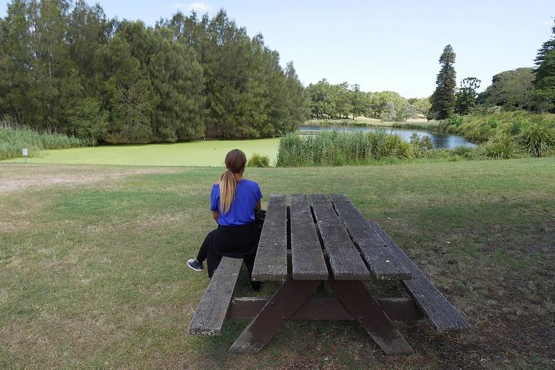 Järvellä piknikillä