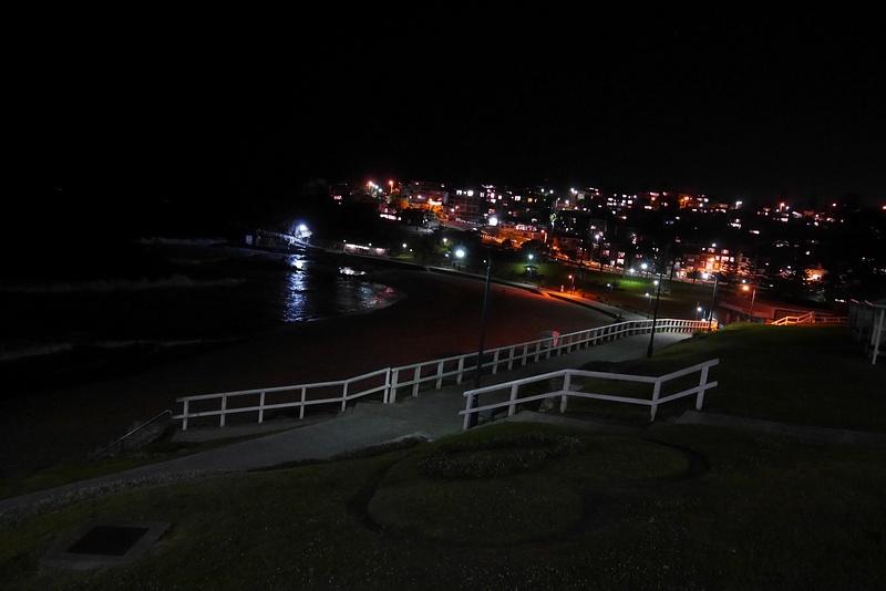 Iltamaisemaa Bronte Beachilta