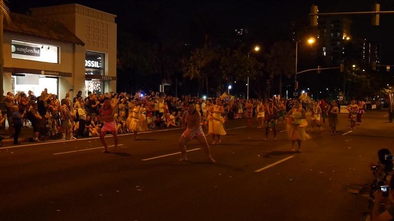 Polynesian tanssikultturia