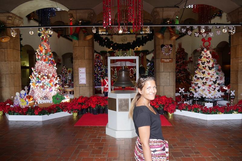 Joulukuusinäyttelyssä