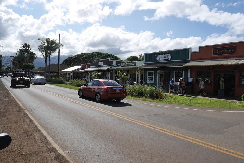 Haleiwan kylää saaren pohjoispuolella