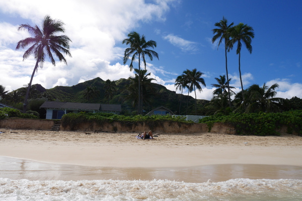 Lanikai Beach on kuulemma USAn paras hiekkaranta by hannajamikko