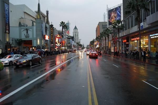 Eka päivä Hollywoodissa, kylmää ja sadetta! by hannajamikko