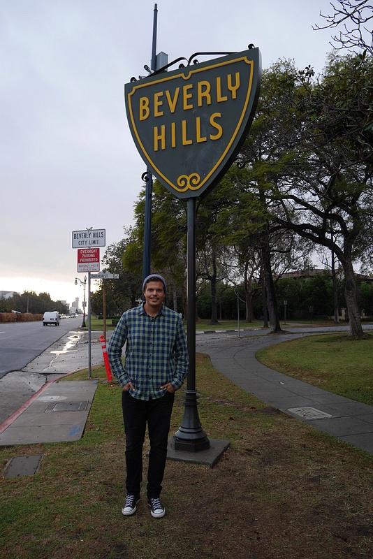 Käytiin kokemassa Beverly Hillsin asuinalue. Sanattomaksi vetää.