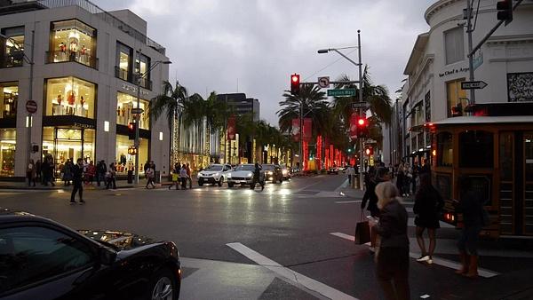 Beverly Hills Rodeo Drive by hannajamikko