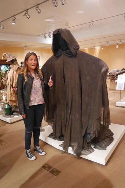 Harry Potterista tuttu Dementor. Hanna kävi Hattutestissä ja kuuluu Puuskupuhiin. by hannajamikko