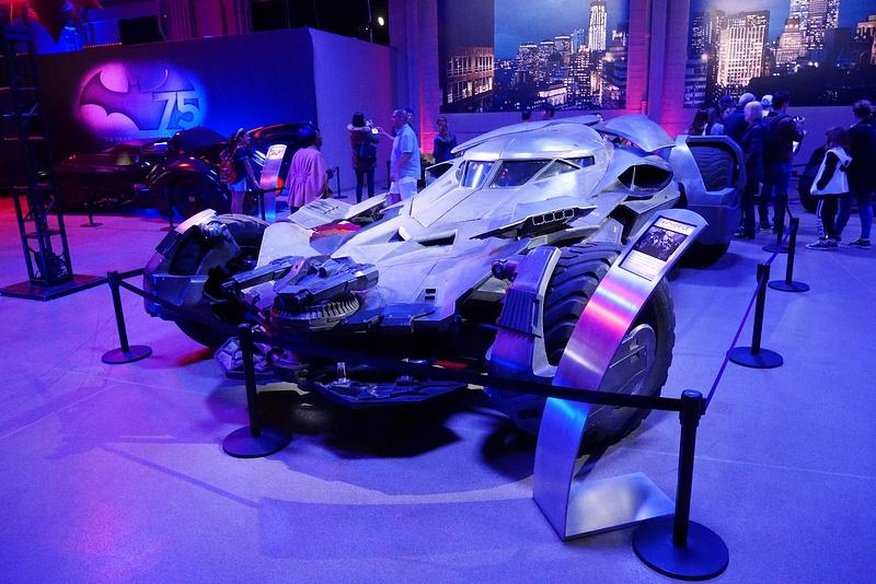 Ben Affleckin sekä Michael Keatonin Batman-auto