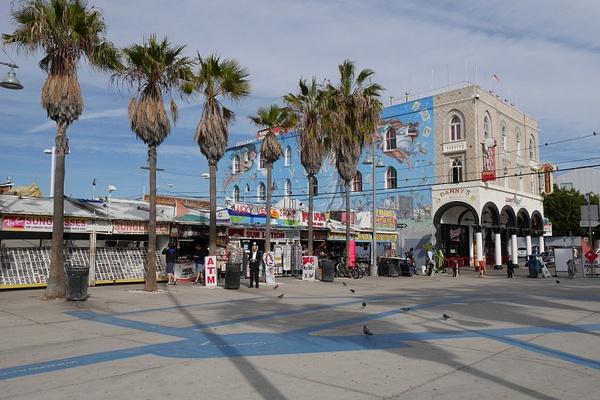 Venice Beach katutaidetta by hannajamikko