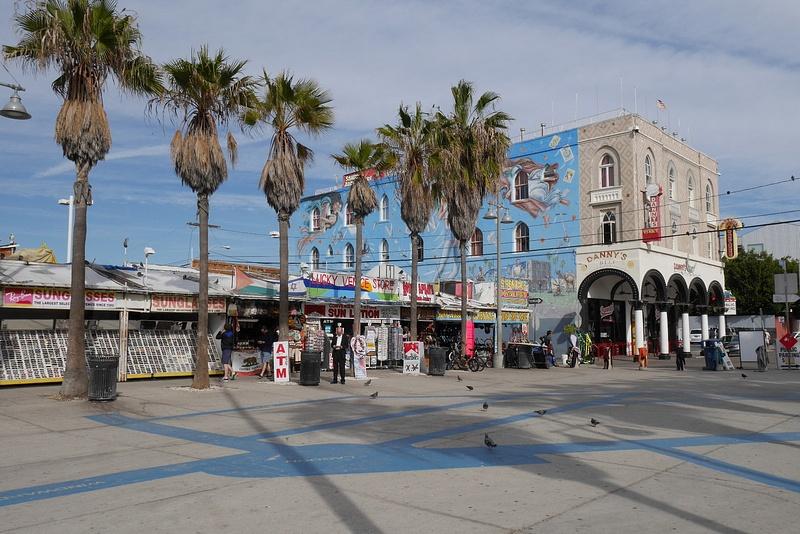 Venice Beach katutaidetta