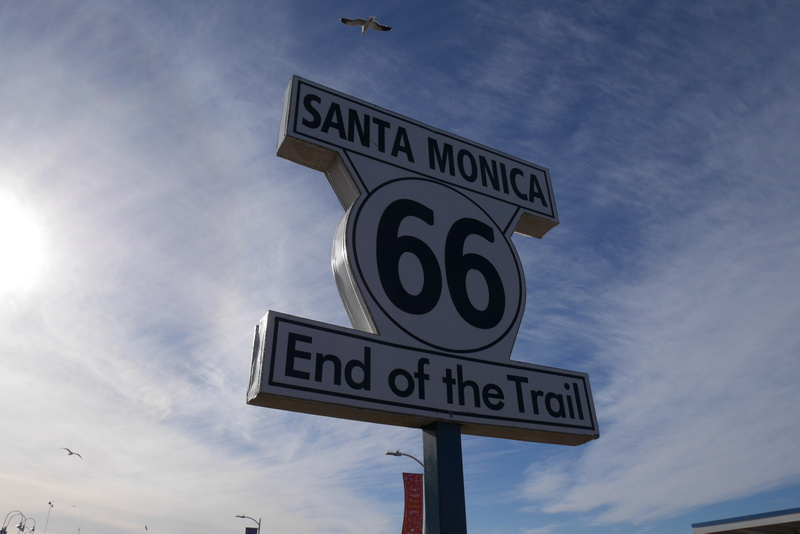 Tästä alkaa tai loppuu Route 66