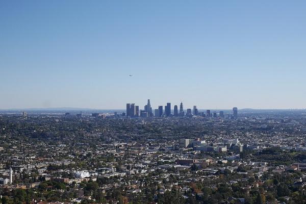 Los Angeles Downtown Griffith Parkista kuvattuna by hannajamikko