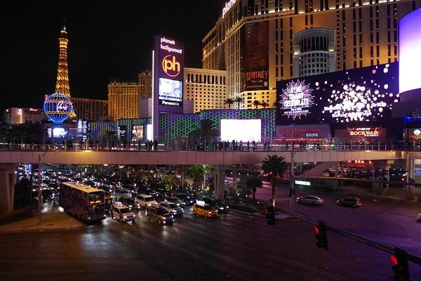 Las Vegas yöaikaan by hannajamikko