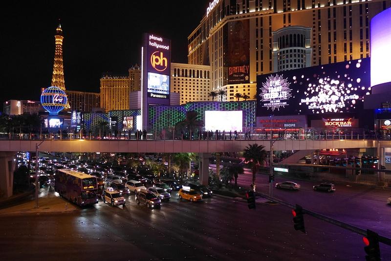 Las Vegas yöaikaan
