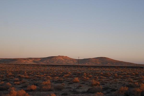 Matkalla Las Vegasiin. Auringon viimeisiä säteitä. by hannajamikko