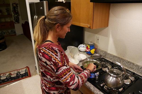 Hanna tekee parantavaa soppaa flunssasille by hannajamikko