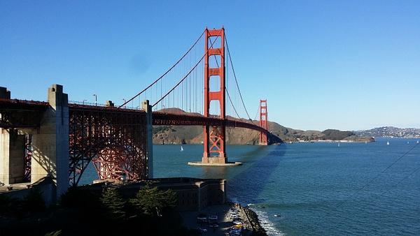 San Francisco Golden Gate by hannajamikko