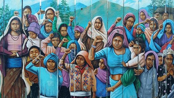 Missionin taiteilijakaupunginosassa näkyy poliittisesti kantaa ottavaa katutaidetta by hannajamikko
