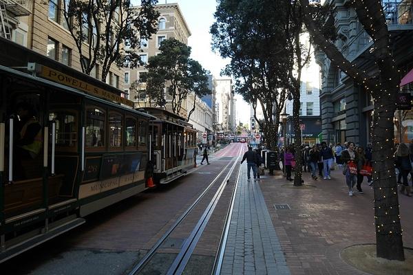 Cable Car on osa San Franciscon historiaa ja edelleen osa julkista liikennettä by hannajamikko