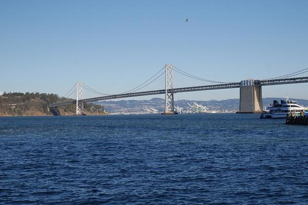 Bay Bridge by hannajamikko