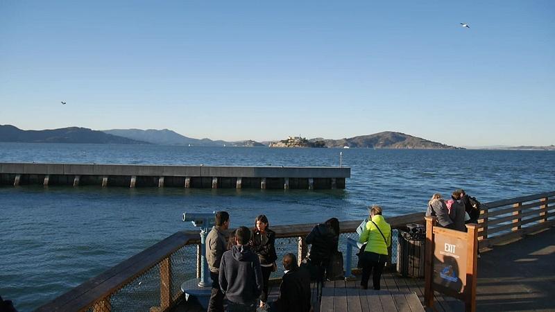 Alcatraz, Golden Gate, Fisherman's Wharf ja Pier 39 merileijonat