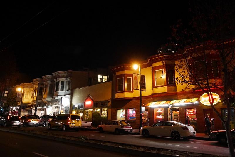 San Franciscon Italialainen kaupunginosa North Beach on täynnä maan parhaita ravintoloita