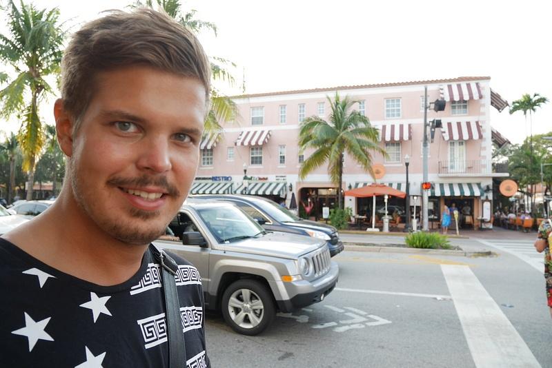 Miami Beachin Art Deco alueella