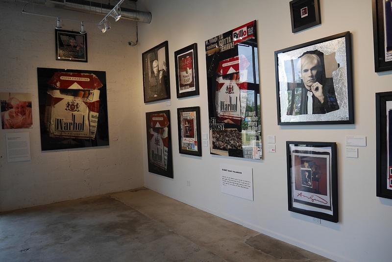 Andy Warhol taidenäyttelyssä