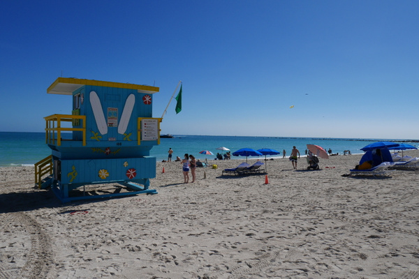 Aurinkoinen South Beach by hannajamikko