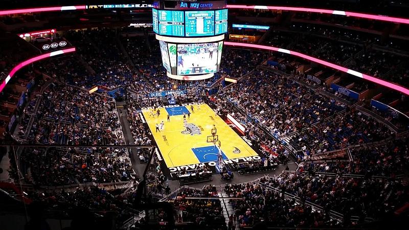 NBA korismatsia kattomassa Orlandossa
